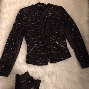 Black Tweed Jacket